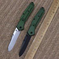 높은 품질 BM (940) AXIS 접는 칼 S30V 소재 녹색 항공 알루미늄 핸들 캠핑 사냥 장비 포켓 EDC 도구 블레이드