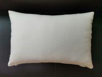 Lienzo en blanco fundas de almohada funda de almohada 12x18 blanco algodón amortiguador de la cubierta al por mayor de peso medio natural de la lona funda de almohada espacios en blanco para el bricolaje