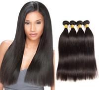 Viya 9a حريري مستقيم الشعر البشري حزم الماليزية العذراء الشعر ملحقات ناعمة وسلسة يمكن أن تلخص شحن مجاني 10-30inch