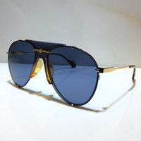 0740 Новые моды Солнцезащитные очки с УФ 400 Защита для мужчин и женщин Винтаж Овальный Невидимый Металлический Рамка Популярное Высочайшее Качество Поставляются с Кейсом