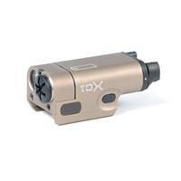 마크와 전술 SF XC1 LED 초소형 권총 권총 화이트 라이트 200 루멘 출력 알루미늄 건설