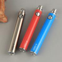 Ugo-V Elektronik Sigara Pil Ayarlanabilir 650mAh 900 mAh Vape Kalem Piller 510 Konu Pil E Sigara Aksesuarları UGOB01