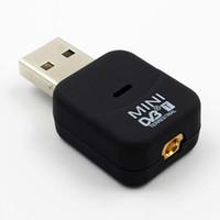 Mini Digital TV Stick Tuner SDR + DAB + FM DVB-T HDTV Antenna Inomhus USB 2.0 Dongle Stick med fjärrkontroll Trådlös mottagare