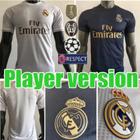 19 20 Player Version real Madrid soccer jerseys home away HA...