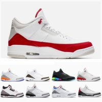 Tinker University Red 3s Chlorophyll Mocha 3 Men Basketball ...