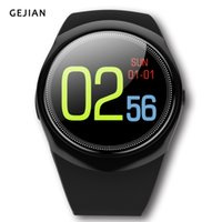 Smart Watch Men Bluetooth Sport Watches Donna Ladies Heart rate Smartwatch con fotocamera Sim Card Slot Android PK DZ09 Y1 A1 V8