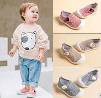 3 Infant Pcs Mix Atacado Outono da menina da criança Menino Casual malha sapatos macios inferior de alta qualidade anti-derrapante Kid Baby First Walkers