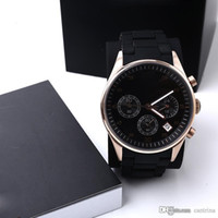 Top Quality Men Watch AR5905 AR5906 AR5919 AR5920 clássico Mulheres relógio de pulso Men Watch Box Original com certificado