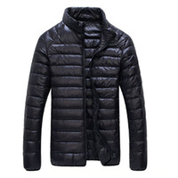 90% White Duck Down Jacket 2018 New Ultralight Men Winter Du...