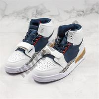 Jumpman ultima Legacy 312 NRG Pure scarpe bianche di pallacanestro del Mens Knicks Lakers Pistoni atletici Sport Sneakers uomo salta Designers Formatori
