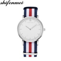 Shifenmei Top Men Fashion Casual Watches Men' s Quartz C...
