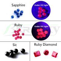 Beracky 4mm 5mm 6mm 8mm 10mm Fumeurs Ruby Terp Perles Perles Sapphire Sic Dab Perles Insert Pour Quartz Banger Banger Water Bong Rigs