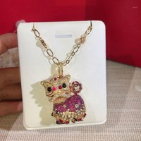 Women Necklace Lion Necklace 18K gold for Women' s High ...
