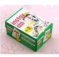 Original Fuji Fujifilm Instax Mini 8 película Blanco Edge Papeles de fotos para Mini 9 7s 90 25 55 Compartir SP-1 Cámara instantánea 100 hojas