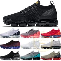 2018 Designer 2.0 Running Shoes Hombre Mujer Negro Metallic Gold White Core Cream Grey Red Oreo Sports Athletic Sneakers 36-45