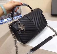 2020 designer bolsas Cadeia Flaps Forma de luxo Saco com purs chaves sacos de alta qualidade Mulheres de lona a tiracolo de embreagem saco Mensageiro
