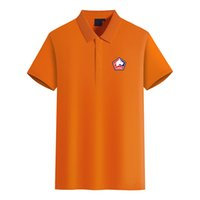 Lille Olympique Логотип футбольного клуба мужской моды Golf Polo Футболка мужская с коротким рукавом поло футболки