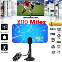 هوائي التلفزيون الرقمي HD Skywire 4K 200 ميل المدى انتينا الرقمية HDTV 1080P داخلي هوائي التلفزيون 3E23
