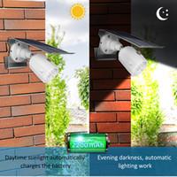 10 LED 태양 광 조정 가능한 조명 각도 500lm 방수 램프 스포트 라이트 야외 가르프 벽 마당에 대 한 세 가지 모드로