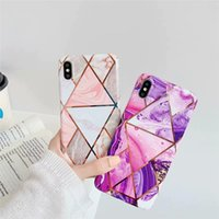 For iPhone X Silicone Case Marble TPU Phone Cover For Iphone...