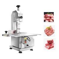 Machine à viande de viande commerciale Machine de sciage de viande congelée pour porcelet Côte de poisson viande de poisson de viande de bœuf 110v / 220V