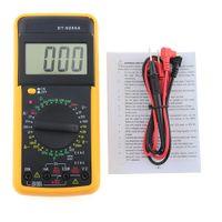 디지털 방식으로 DT9205A 멀티 미터 LCD AC / DC 전류계 저항 용량 검사자