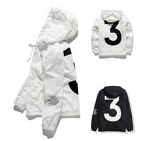 En Satış Yüksek kalite Erkek KANYE WEST Ceket Hip Hop Rüzgarlık moda tasarımcısı ceketler Erkek Kadın Streetwear Kabanlar Coat