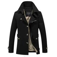 Mittellange Herren Jacke Herbst Business Windbreaker Mantel Herren Casual Outwear Slim Fit Hohe Qualität Plus Größe 5XL