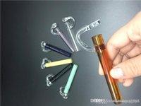 도매 연구소 손 유리 파이프 담배 파이프 담배에 대한 허브 amoking 리터 유리 농축 물 시음 오일 왁스는 실험실 파이프 흡연