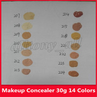 Célèbre D Correcteur Maquillage Couverture Fond de teint crème Make 50e anniversaire limitée Up Version cosmétique 14 couleurs drop shiping