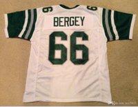 Özel Erkekler Gençlik kadınlar Vintage Bill Bergey # 66 Dikişli Dikişli RETRO Futbol Jersey boyutu s-4XL veya özel herhangi bir ad veya numara forması