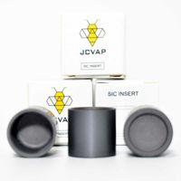 JCVAP silicone con inserto di carburo di SiC V3 Bowl per Peak No Chazz atomizzatore sostituzione di cera vaporizzatore quarzo Bangers