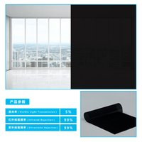 5%VLT 2PLY Black Car Sun Shade Window Tint Film Glass Car Wi...