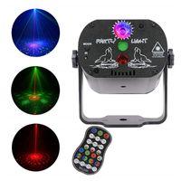 60 Patterns LED dj lights USB 5V RGB Laser Projection Lamp Remote Control Stage Lighting for Home Party KTV DJ Dance Floor