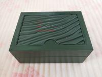 Fornitore della fabbrica verde originale orologi regalo Box Paper Boxes borsa del cuoio della carta 185 millimetri * 134 millimetri * 84 millimetri 0.7kg Per 116610 116660 116710 Guarda