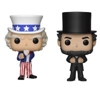 2020 new Funko POP American history story Lincoln action fig...