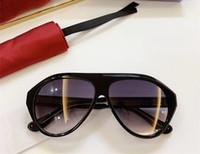Topsale superbe lunettes de soleil pilotes G0479S UV400 verres dégradés mixtes importés verres optiques bigrim grenouille planche épaisse 60-13-150 cas full-set