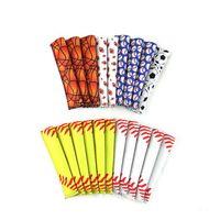 15 * 4cm Eis am Stiel-Halter Pop Ice Sleeves Für Baseball-Hockey-Stock Freezer Pop Halter für Softball Fußball Chevron-Blumen-Art YYA58