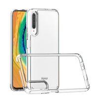 Для Huawei Y9S nova 5t Y9 2019 чехол для телефона Толщина 1,5 мм прозрачная прозрачная задняя крышка ударопрочный акриловый чехол TPU B