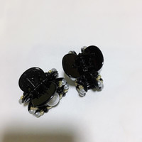Moda clássico de pérolas de diamantes pequena garra grampo de cabelo C clipe adulto CLIP top para senhoras recolher luxuosos ornamentos artigos do projeto do cabelo vip presente