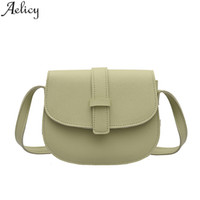 Aelicy Luxury Handbags Handbags Designer Borse a tinta unita Small Fresh Ladies Messenger Bag Messenger Bag donna 2019