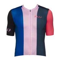 2021 Verano transpirable Maap Team Men's Cycling Mangas cortas Jersey Camisetas de carreras de carretera Tops de bicicleta deportes al aire libre Maillot S21042648