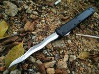 Makora II a frente faca dupla ação Auto 106-4 tático facas de sobrevivência faca de caça com caixa de varejo A07 C07