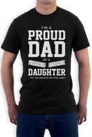 Proud Dad Of A Freaking Awesome Daughter Gift for Dad Funny ...