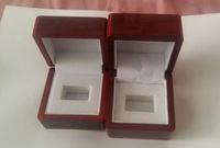 챔피언십 링 디스플레이 케이스 상자 나무 상자 챔피언십 (나무, 1 홀) 65 ** 65 * 45mm 및 50 * 65 * 65cmred