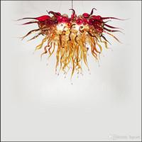 Источник света Сид рука дунула люстры муранского стекла цветок конструировал света муранского стекла Привесные сделанные в Китае для декора столовой
