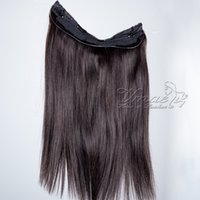 Halo Flip In Human Hair Extensions Brazilian Straight 100g 1...