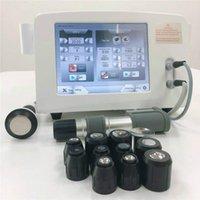 Haute sécurité par ultrasons Physiothérapie machine Taille compacte OEM Service disponible physique ESWT Shockwave therpay machine pour la douleur de réduire