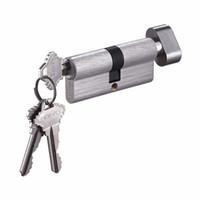 طول 70mm الأوروبي الأمن المضادة-- المفاجئة المضادة-- الحفر اسطوانة قفل الباب مع 3 مفاتيح ، عقد اليد أقفال قفل اسطوانة 70mm قفل النحاس