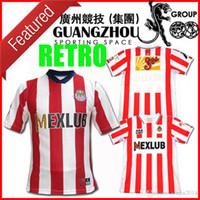 2007/2008 Version Retro Chivas Football Maillots 07/08 LIGA MX Club de Chivas de Guadalajara vintage qualité du football shirt classique uniforme de football